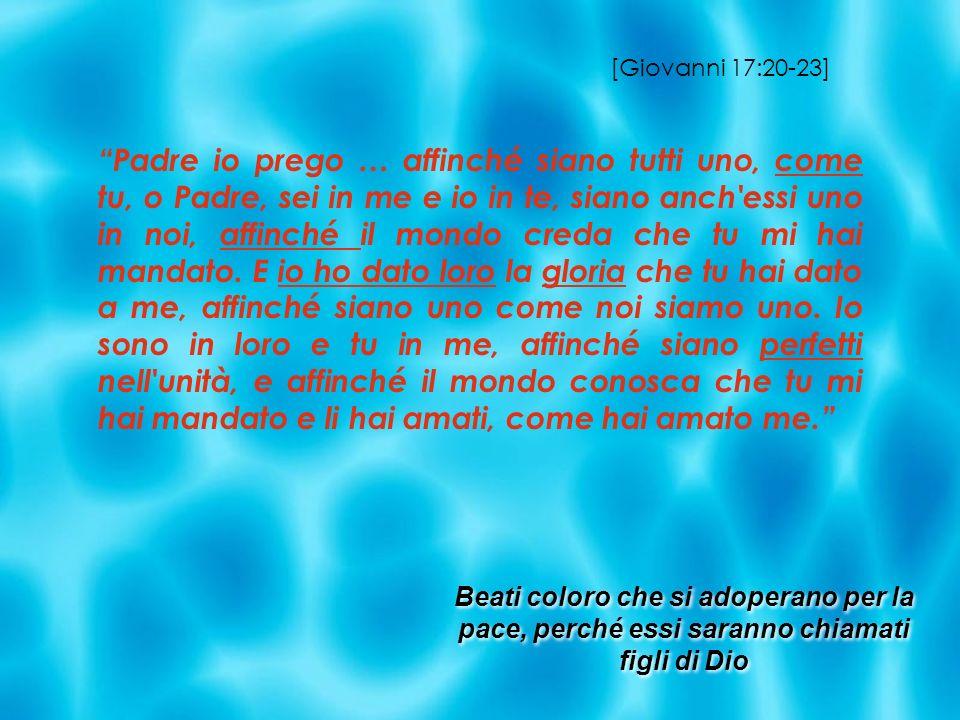 [Giovanni 17:20-23]